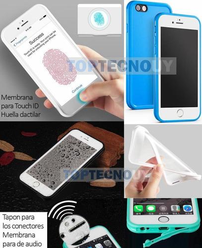 protector resistente al agua iphone 8 plus 7 plus 6s 6 plus®