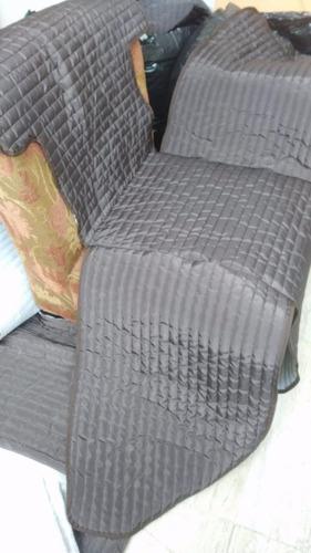 protector salas - couch - 3 plazas - sillón 3 asientos sofá