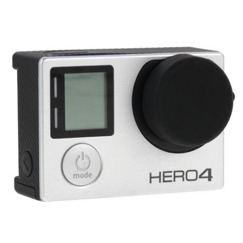protector silicon carcaza y camara  lente gopro hero 3 3+ 4