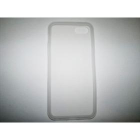 Protector Silicon Case iPhone 5s Color Blanco!!!