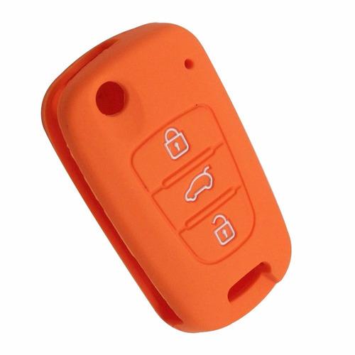 protector silicona carcasa llave kia