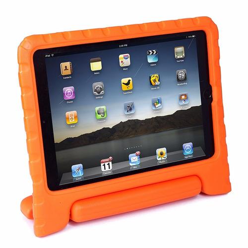 protector silicona ipad air 1/2 niños antichoque con manija