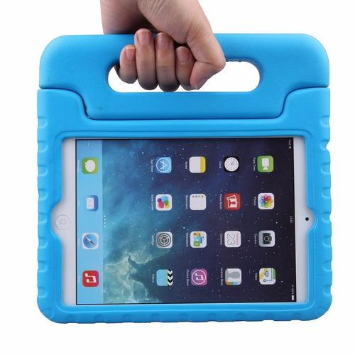 protector silicona ipad mini 1/2/3 niños antichoque manija