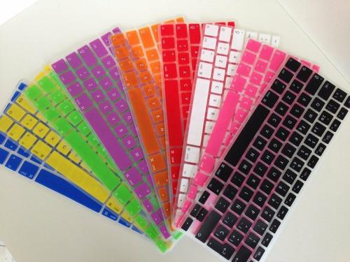 protector silicona para teclado mac 13.3 - americano