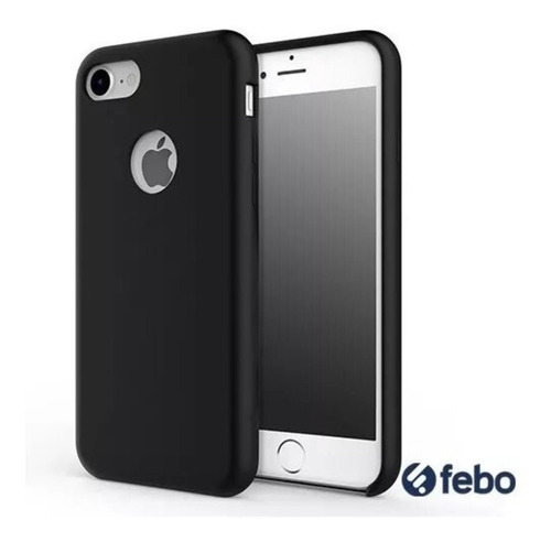 protector silicona similar original iphone 6 7 8 x plus febo