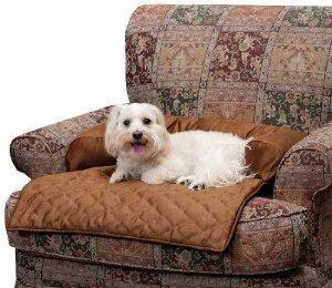 protector sillon perro bolstered cocoa m mueble solvit