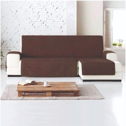 protector sofa l derecha chaise longue normal cafe - camel