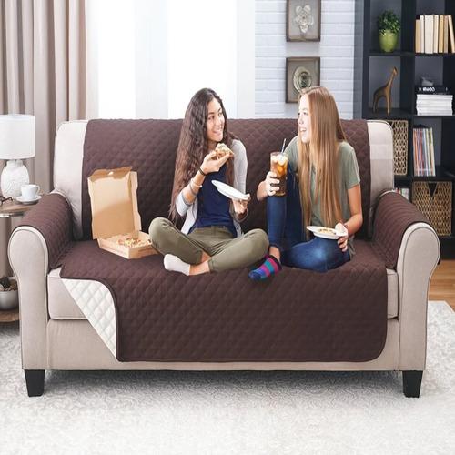 protector sofá microfibra 3 puestos