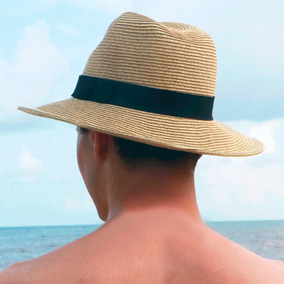 b1746a055d932 Sombrero Panamá Protección Solar Upf 50+ Viaje Moda Playa
