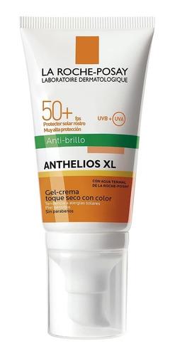 protector solar anthelios toque seco con color fps50+ 50ml