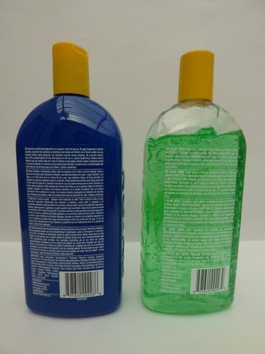 protector solar bloqueador no ad 85 spf + gel aloe vera