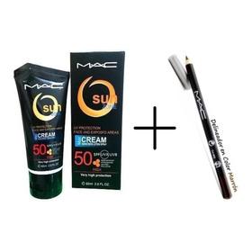 Protector Solar Mac + Maquillaje M & D .ij0610