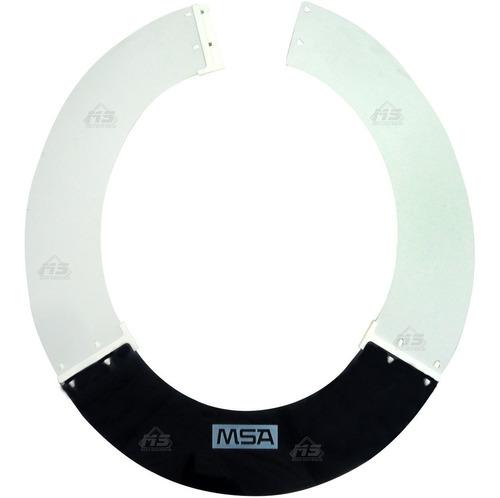 protector solar msa ala ancha para cascos ajustable protecci
