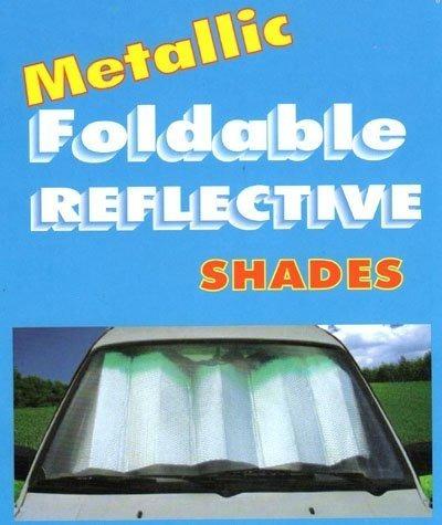 protector solar para carro parabrisas universal color plata