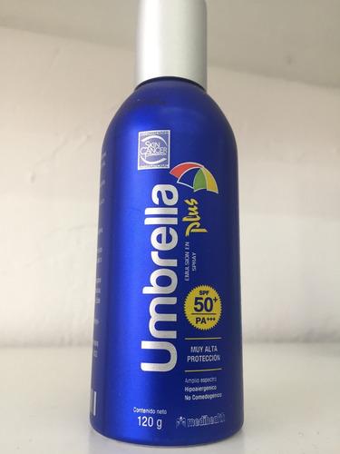 protector solar umbrella plus fps 50+ spray 120g ven 04/19