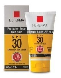 protector solar uva plus spf 30 color lidherma