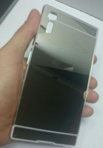 protector sony xperia xz bumper aluminio