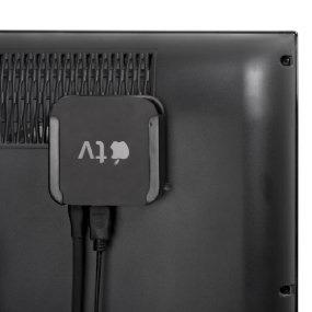 protector soporte pared rack para apple tv 2/3/4 gen