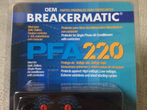 protector supervisor  monofasico 220v pfa220 ( incluye iva )