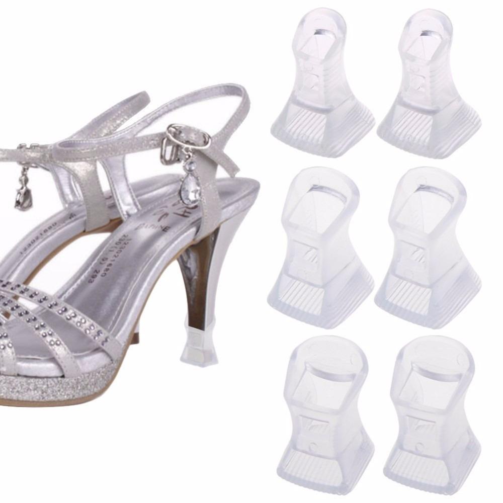 Protector Taco Alto Zapato Material Pvc Mimall -   4.490 en Mercado ... 6907779605d