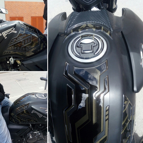 protector tanque+pierneras calcommcd apache 180en reflectivo