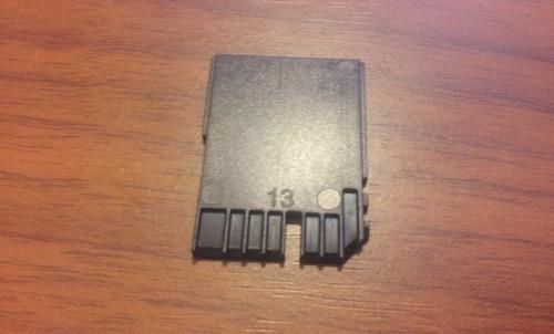 protector tarjeta fake sd proteccion notebooks - factura a/b