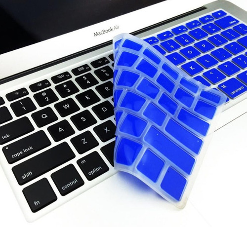 protector teclado en ingles macbook pro 13 15 air 11 retina