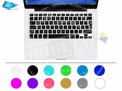 protector teclado español macbook air pro retina imac 13 15