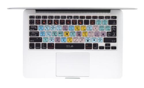 protector teclado español macbook photoshop logic adobe