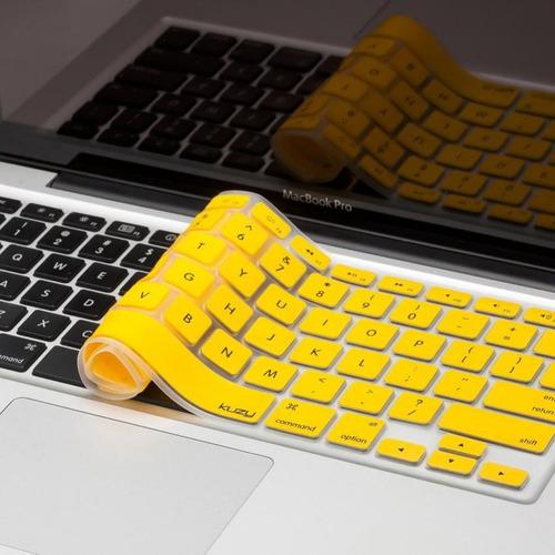 protector teclado español macbook pro 13, 15 ,17, air 13 y