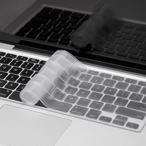 protector teclado ingles macbook todos los modelos colores