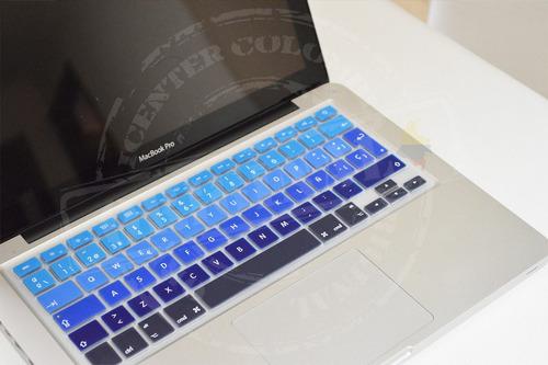 protector teclado macbook air pro retina 13 15 español degra