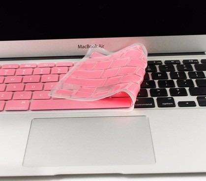 protector teclado macbook pro 13 15 17 pulgadas + envio