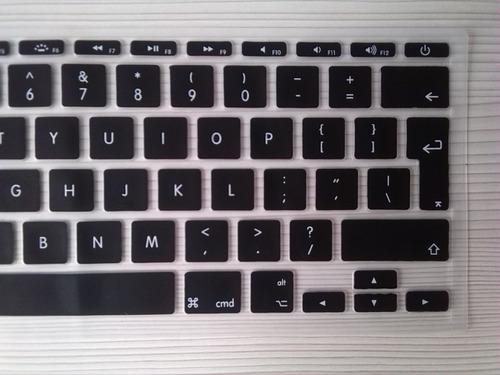 protector teclado silicona apple macbook air 11'' uk eu
