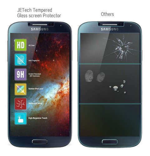 protector templado premium jetech® samsung galaxy s4