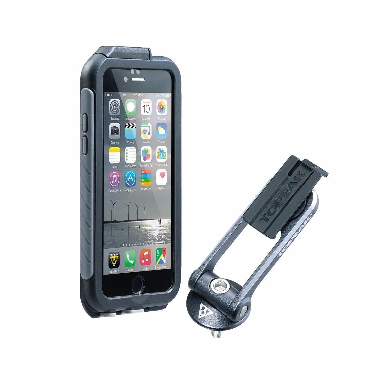 fdf1973a9de protector topeak con base para iphone 6/6s plus weatherproof. Cargando zoom.