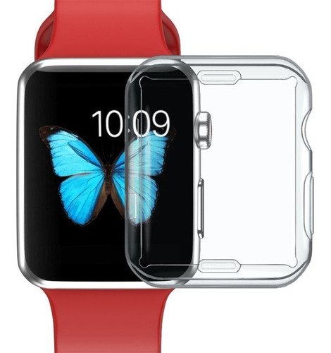 protector tpu flexible completo apple watch 38 40 42 44 mm