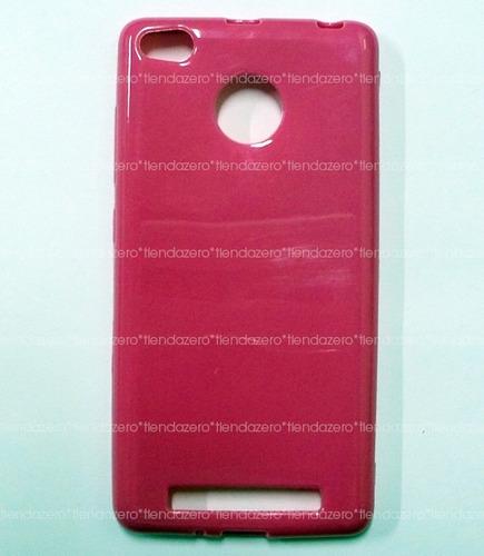 protector tpu + vidrio templado xiaomi 3s y 3s pro