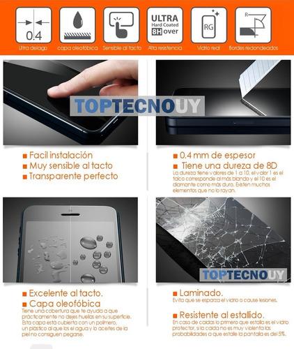 protector tpu + vidrio xiaomi redmi 4x / 3s / 4a / note 4 ®