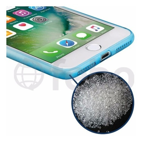 protector ultra fino tpu degrade premium funda iphone 7 plus
