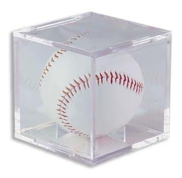 protector ultra pro porta pelota béisbol protección uv- cubo