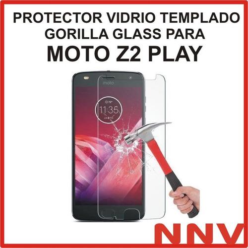 protector vidrio templado glass motorola moto z2 play