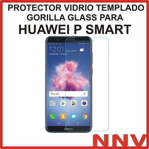 protector vidrio templado glass para huawei p smart nnv
