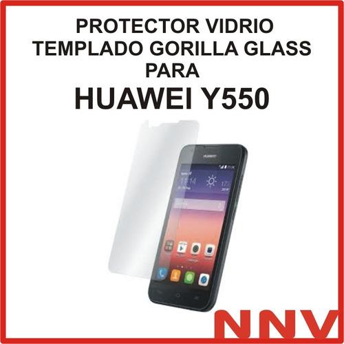 protector vidrio templado gorilla glass huawei ascend y550