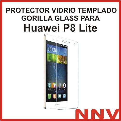 protector vidrio templado gorilla glass huawei p8 lite nnv