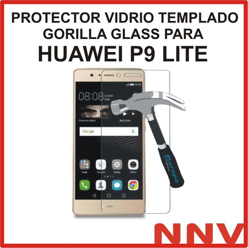 protector vidrio templado gorilla glass huawei p9 lite