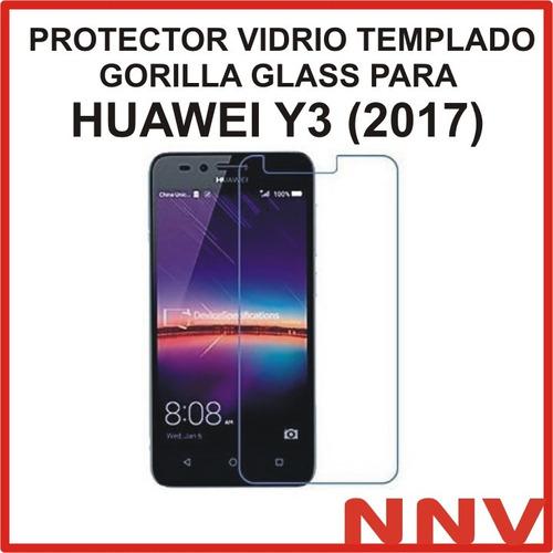 protector vidrio templado gorilla glass huawei y3 2017