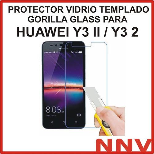 protector vidrio templado gorilla glass huawei y3 ii y3 2