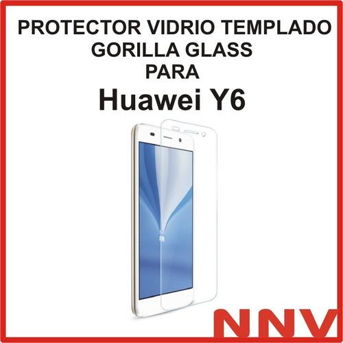 protector vidrio templado gorilla glass huawei y6 nnv