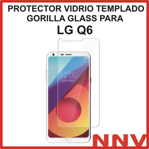 protector vidrio templado gorilla glass lg q6 /q6 alpha 5.5'
